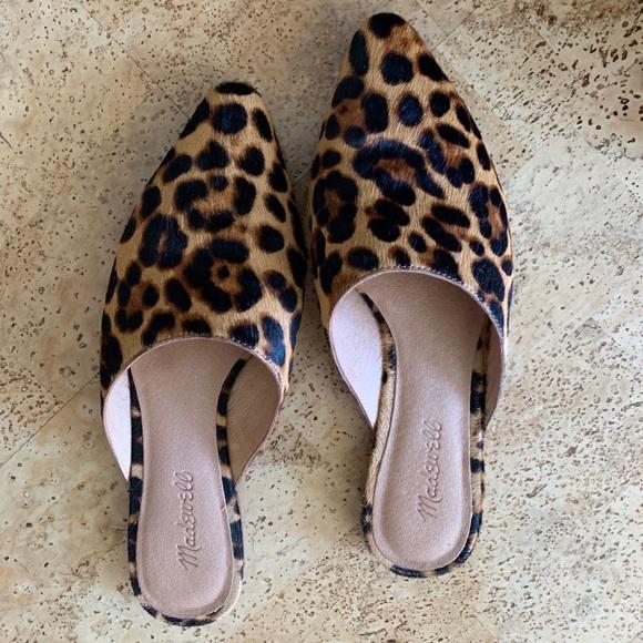 Remi Mule In Leopard Calf Hair | Poshmark